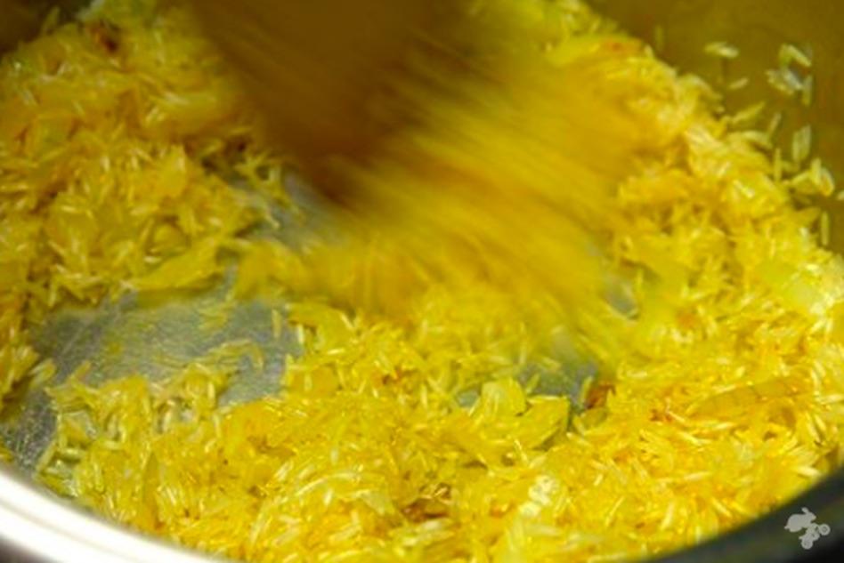 recept gele rijst met curcuma
