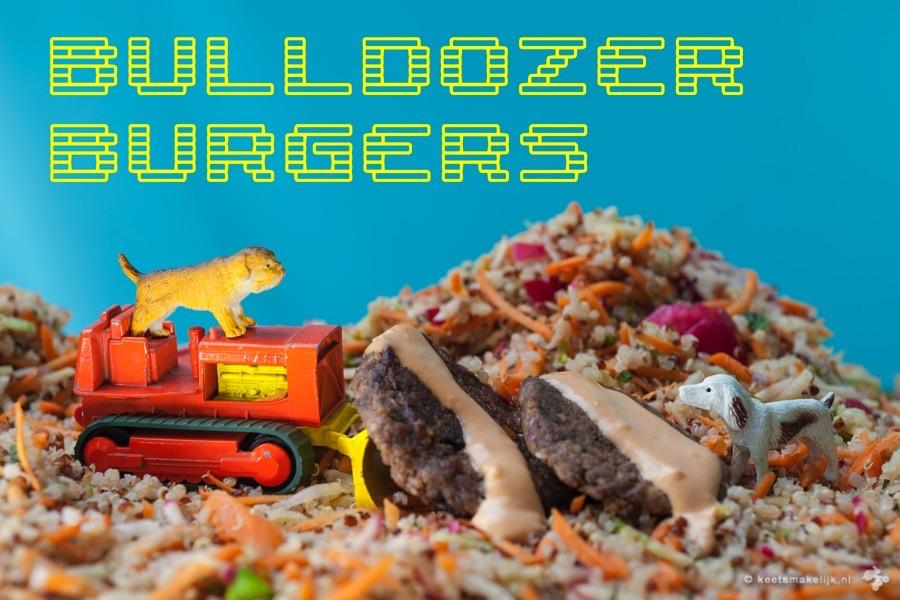 vegaburgers groenteburgers recept aubergineburgers vegetarische burgers Keet Smakelijk kidsproof recept