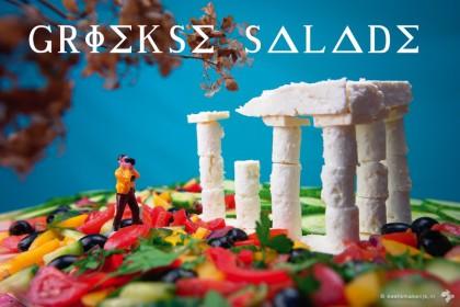 Griekse Salade groentetip Keet Smakelijk