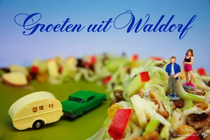 klassieke waldorfsalade