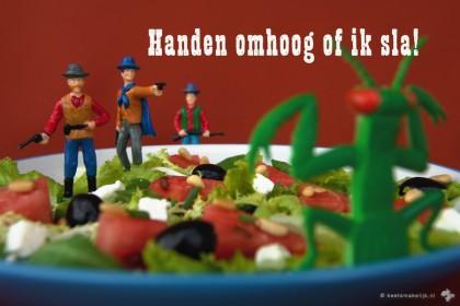 watermeloensalade watermeloen salade Keet Smakelijk