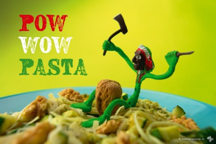 kidsproof recept snelle pasta met courgette recept Keet Smakelijk