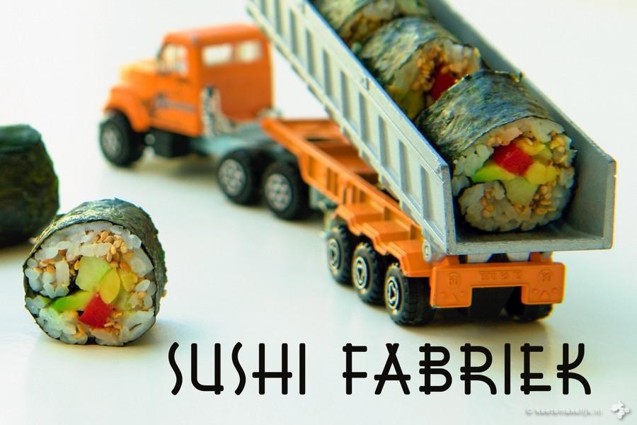 recept vegetarische sushi Keet Smakelijk kidsproof