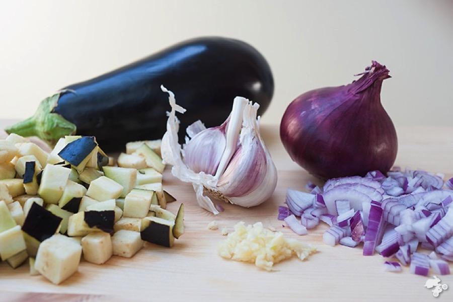 ratatouille met aubergine recept