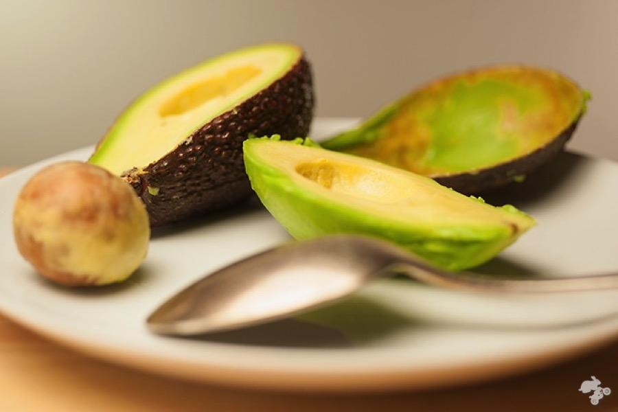 avocado appel salade