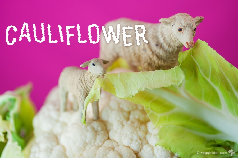 cauliflower edible leaves nofoodwaste salad
