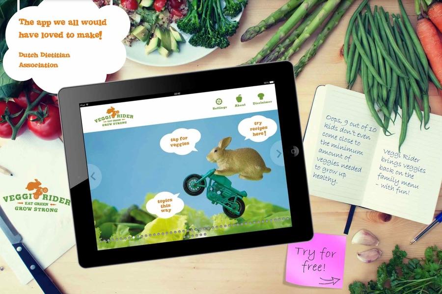 veggi rider ipad app #VeggiRider
