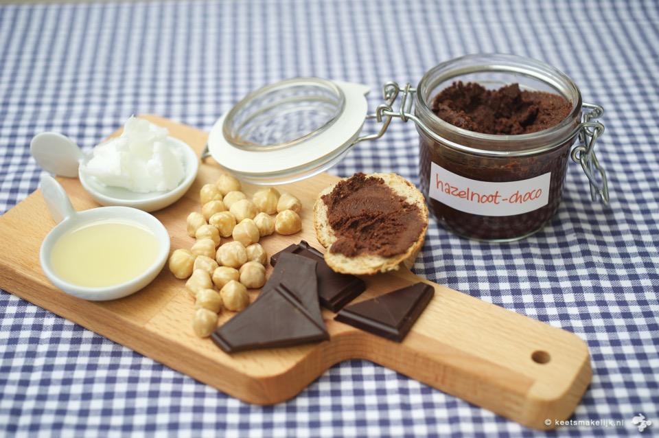 recept voor Homemade choco-notenpasta zonder suiker #KeetSmakelijk