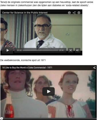 remake Coca-Cola commercial 1971