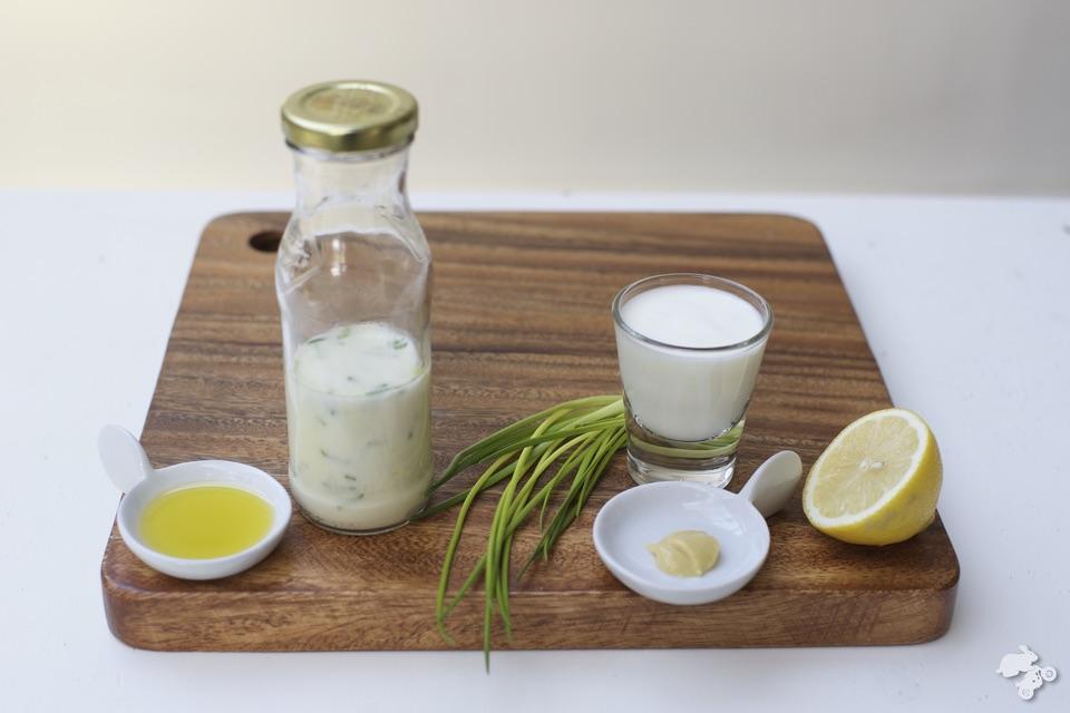 homemade dressing zelf sladressing maken Yoghurt Sladressing recept Keet Smakelijk