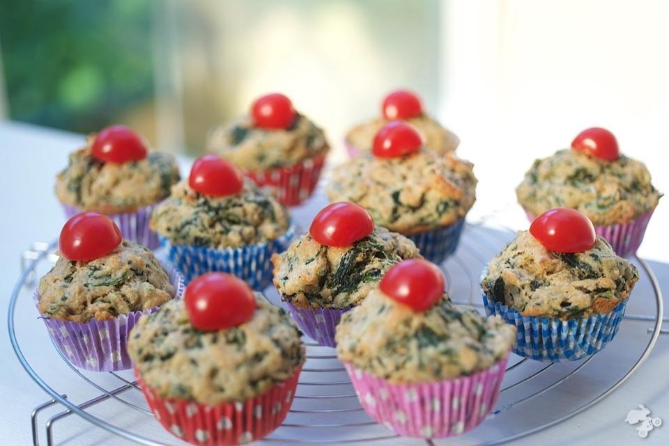 recept spinaziemuffins groentemuffins Keet Smakelijk snackgroenten