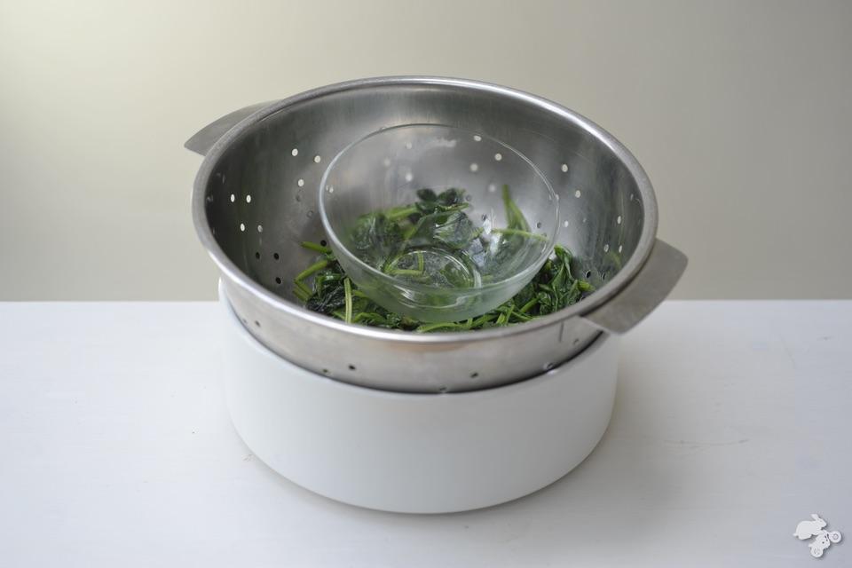 spinazie koken