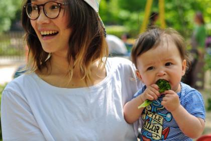 Smaakontwikkeling babys kinderen Snackgroenten Coraline Barend Keet Smakelijk