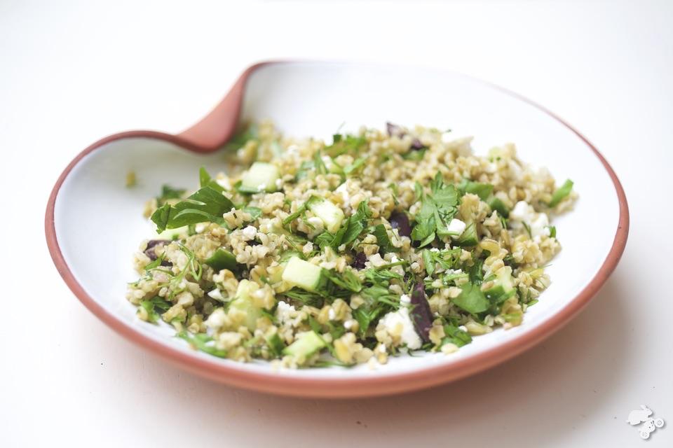 kidsproof recept voor freekeh salade Keet Smakelijk #KeetSmakelijk