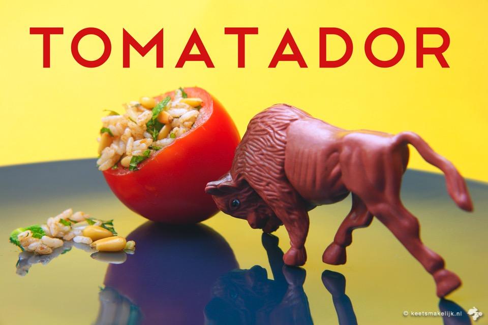 recept voor gevulde tomaat Keet Smakelijk