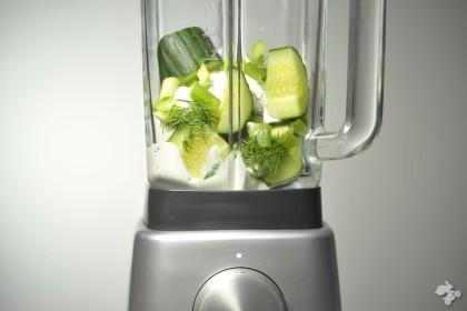 koude komkommersoep recept Keet Smakelijk