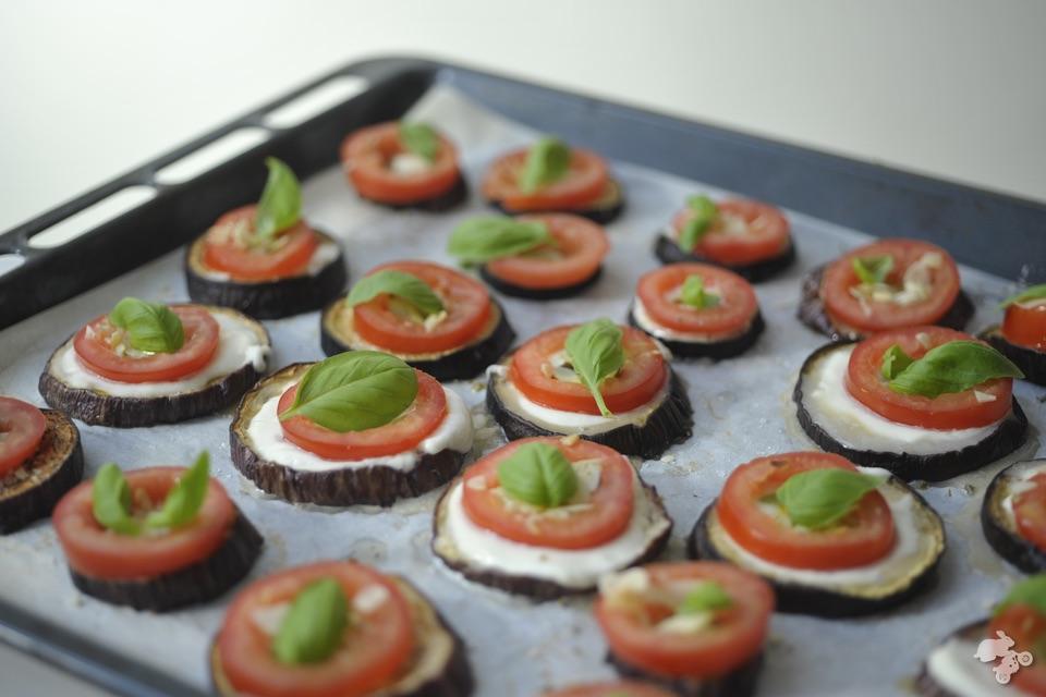 Italiaans taartje Italiaanse taart recept Italiaans aubergine kindvriendelijk groentesnack Keet Smakelijk