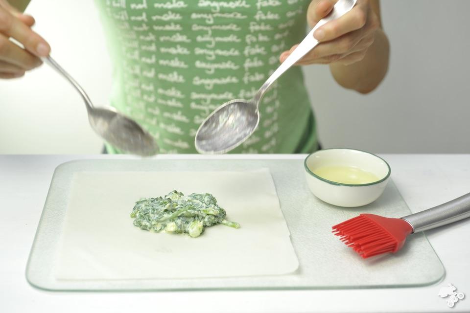 recept filodeeg spinazie