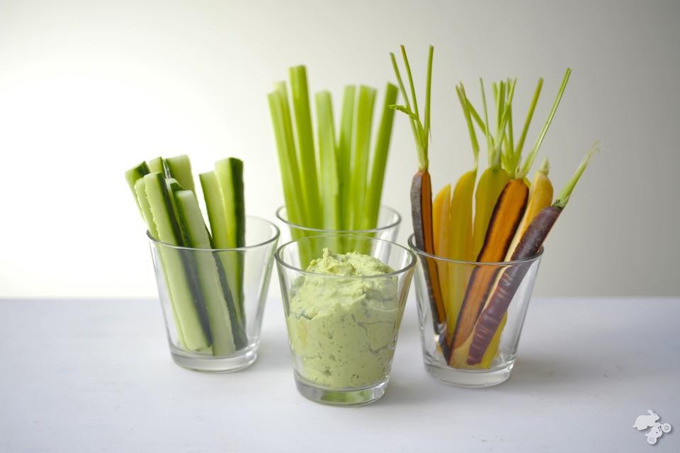 recept voor macamole guacamole snackgroenten #healthy #snack #KeetSmakelijk