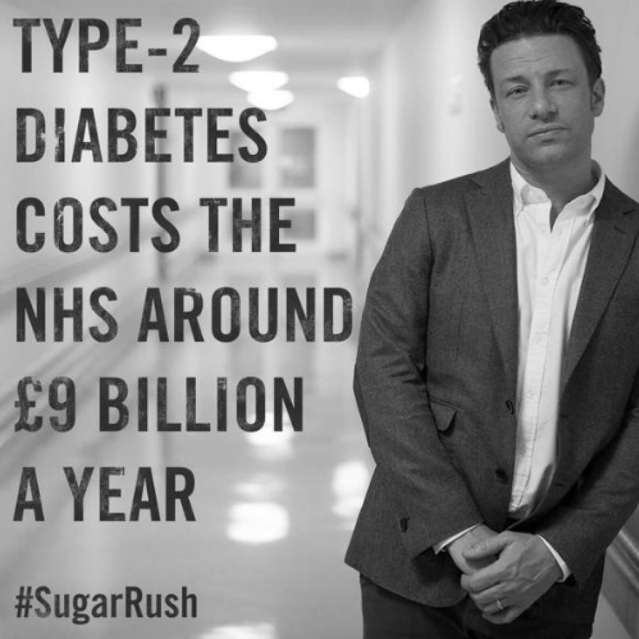 documentaire Jamie Oliver #SugarRush suiker diabetes tandbederf