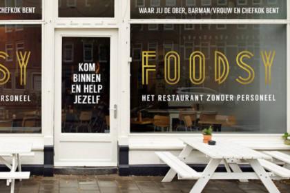 Foodsy restaurant zonder personeel fnv