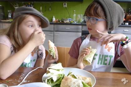 wraps met hummus