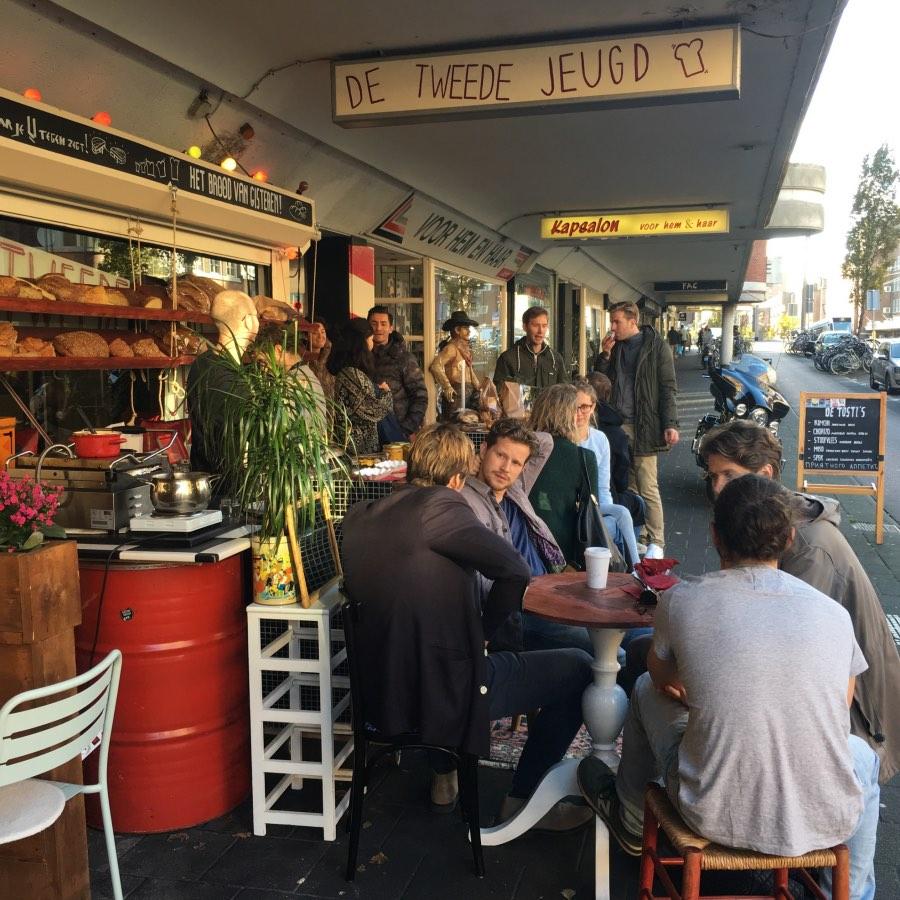 De Tweede Jeugd Popup shop Jan Evertsenstraat Amsterdam