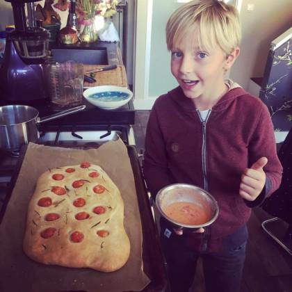 Koken met kinderem