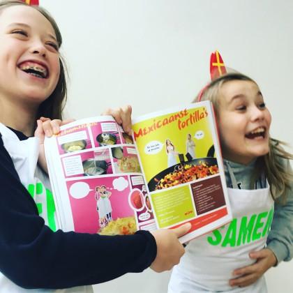 Chef Het Samen met tomaat Sinterklaastip kinderkookboek