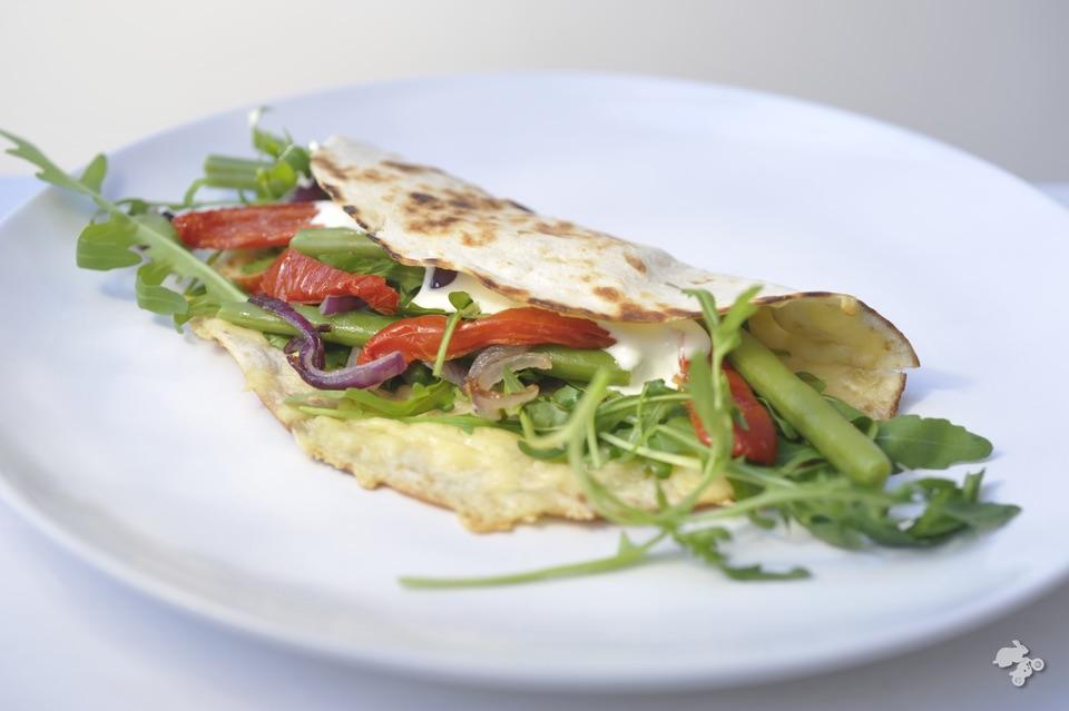 groentewrap familiefavoriet tortilla met sperziebonen en zongedroogde tomaat