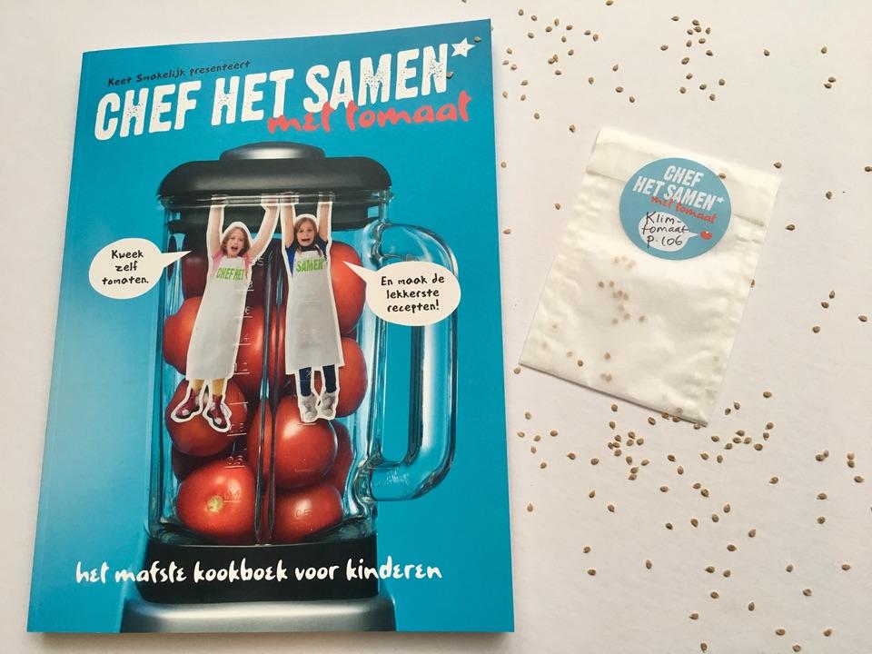 het mafste kinderkookboek chef het samen met tomaat