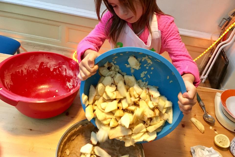 Genoeg Bakken met Kinderen - APPELTAART - Keet Smakelijk #YQ28