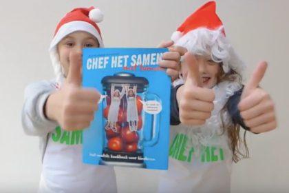 chef het samen kerstman