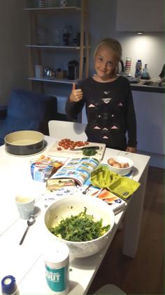 Kinderkookboek chef het samen