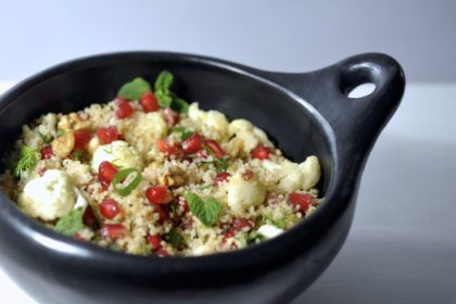 couscous salade met bloemkool
