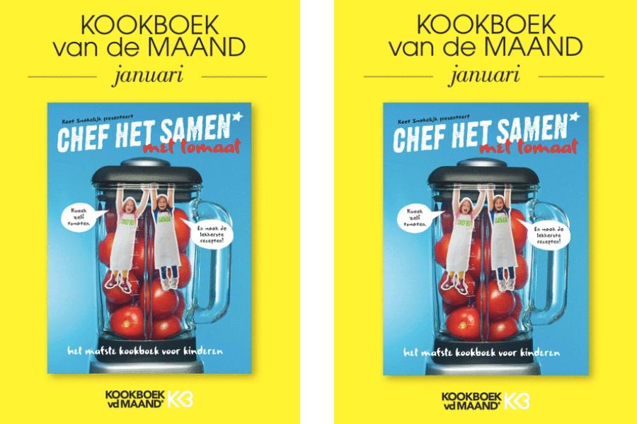 kookboek van de maand