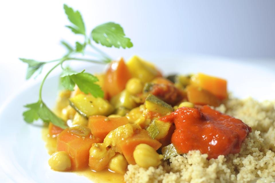 couscous met milde harissa