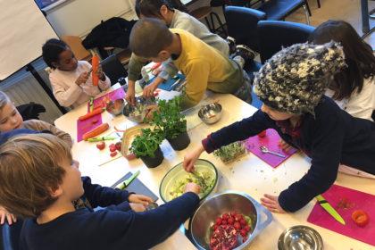 kookworkshops op scholen